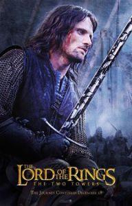 08 Aragorn 192x300 Властелин Колец   Постеры
