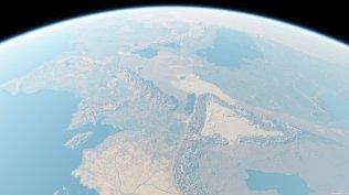 Средиземье с высоты орлиного полета