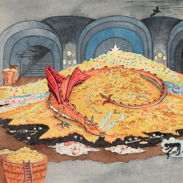 ox ex 04 Выставка, посвященная Толкину, открылась в Оксфорде!