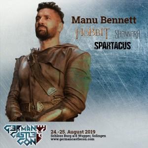 gcc manubennett 300x300 German Castle Con: Джон Рис Дэйвис и Ману Беннетт!
