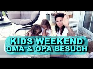 Kids Wochenende mit Oma und Opa