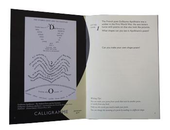 Letter Game 1: Calligrammes