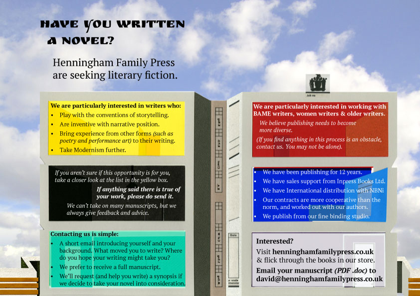 Submissions | Henningham Family Press