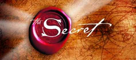 The Secret DVD / book cover (cut out)