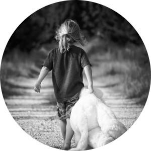 Meisje met beer - greyerbaby