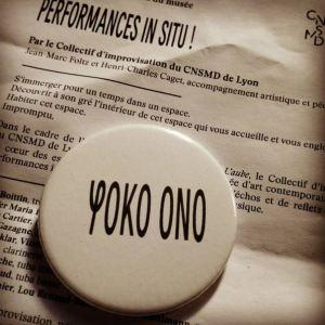Yoko Ono au MAC de Lyon