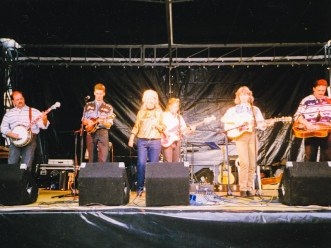 Nugget accompanying late Rose Maddox on tour in Austria, 1994