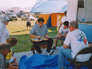 Dobro workshop, Bitterroot Valley Bg Festival, Montana 2003