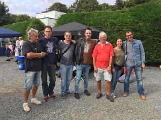 Cornish Bluegrass Festival, England 2016. With Slávek Hanzlík and Barcelona Bluegrass Band