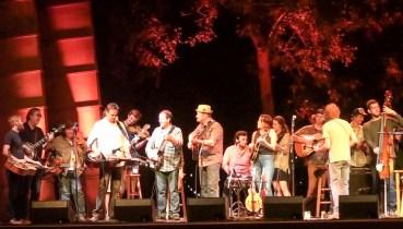 Grand finale at RockyGrass with Sam Bush Band 2014