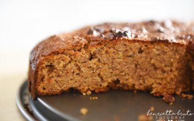 Nyttig Morotskaka utan gluten, vitt socker och mjölkprodukter