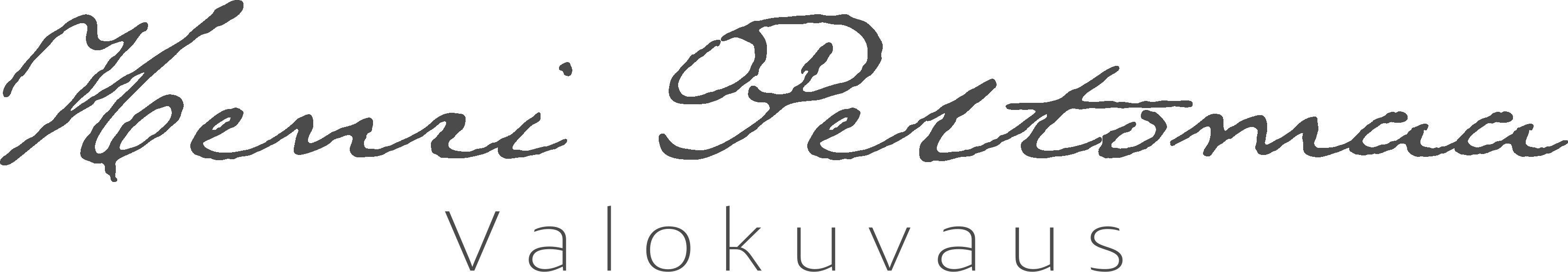 Logo for Henri Peltomaa valokuvaus • Pori, Finland