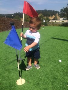 Wineries with kids golf