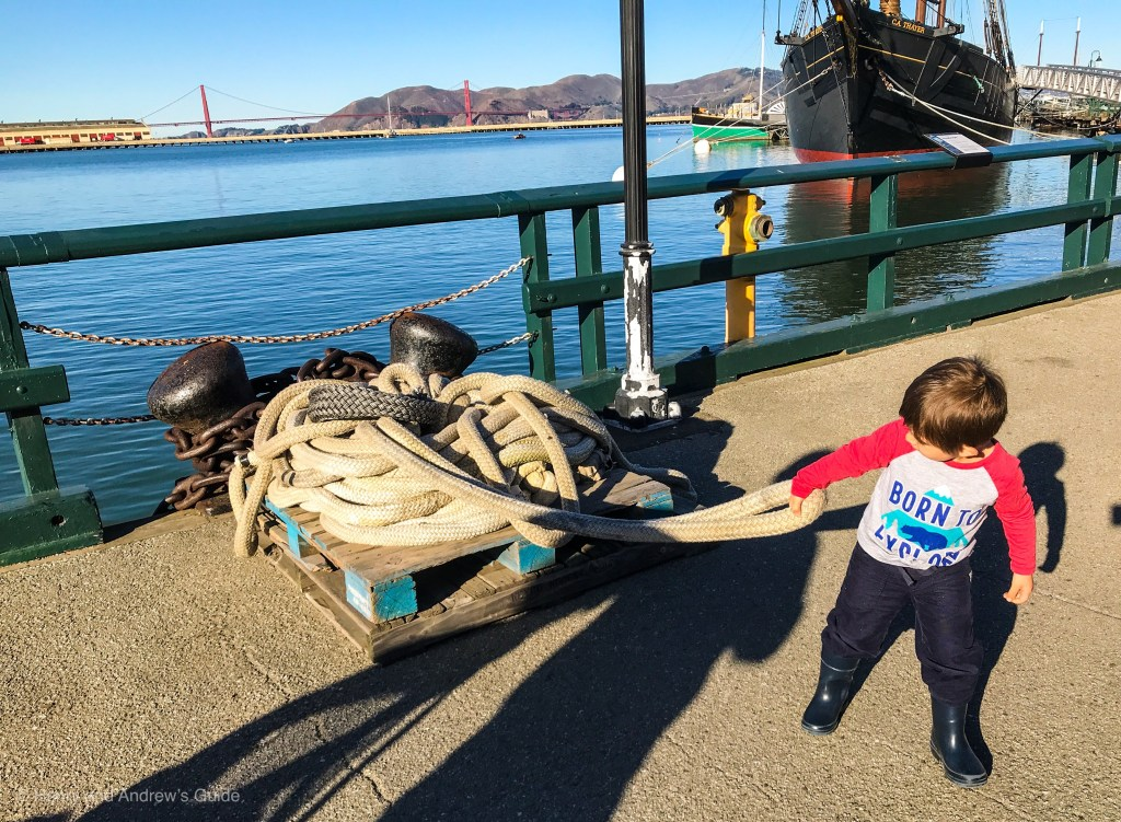 Free at Fisherman's Wharf | San Francisco with Kids | Free Activities in San Francisco with Kids | Henry and Andrew's Guide