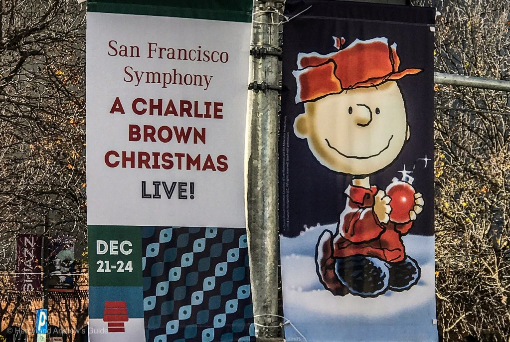 A Charlie Brown Christmas SF Davies Symphony | San Francisco with Kids | Holidays in San Francisco | Henry and Andrew's Guide (www.henryandandrewsguide.com)