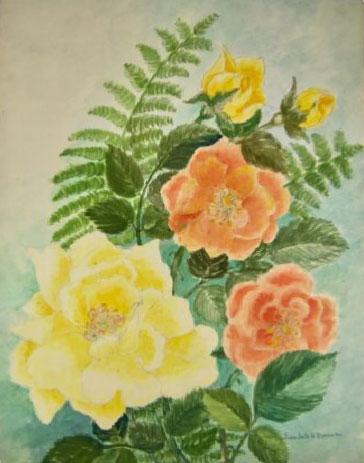 Beulah H Brown - Watercolor