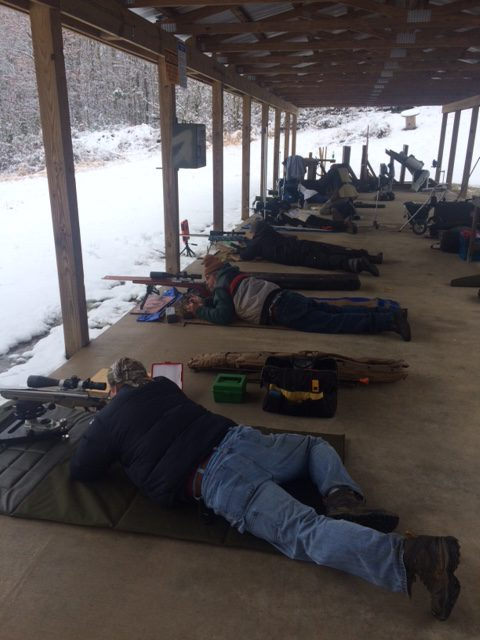 NRA Shoot in Snow 2