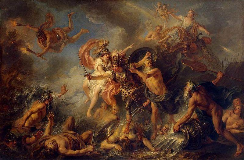fury of achilles coypel 1737