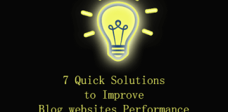 7 Quick Solutions to Improve Your Blog websites Performance