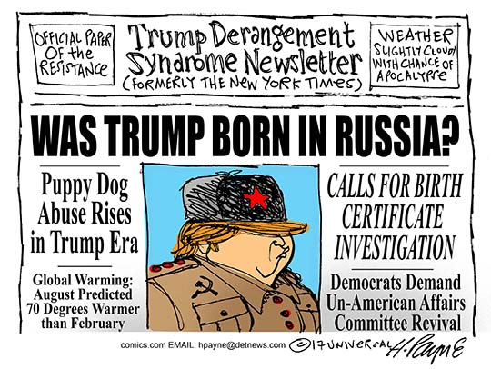 Image result for cartoons trump russia