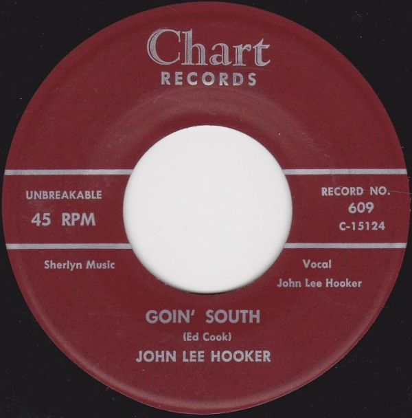 john lee hooker chart records