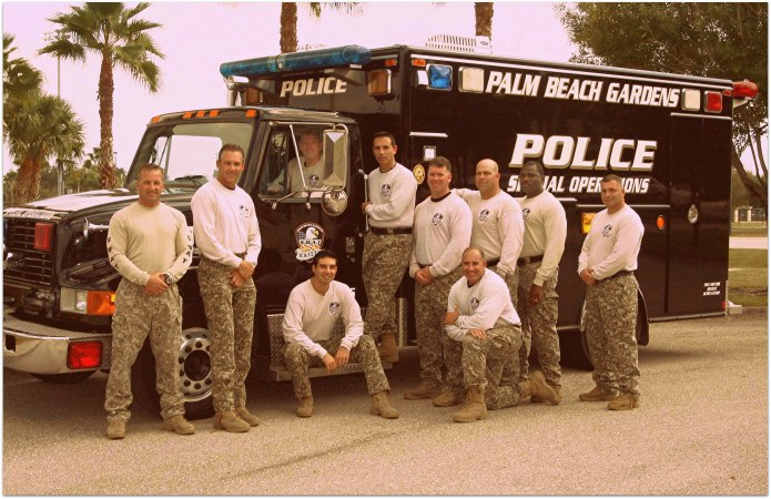 Palm Beach gardens swat team
