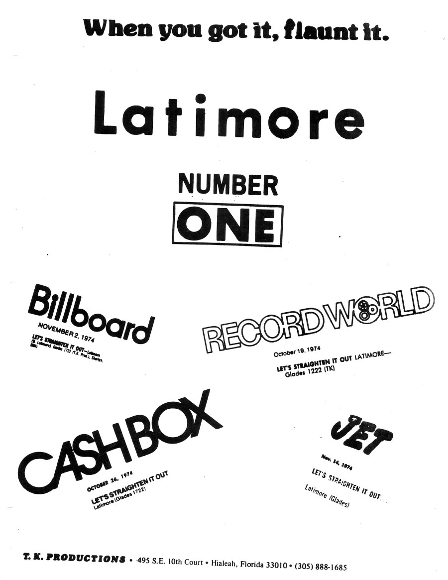 latimore number one