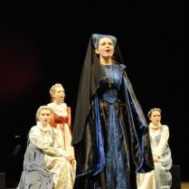 Catherine of Aragon and her ladies in waiting - Henry VIII The Musical