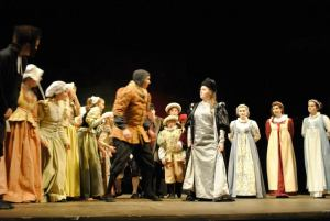 Henry VIII meets Anne of Cleves - Henry VIII The Musical