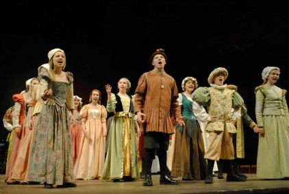 Townsfolk - Henry VIII The Musical