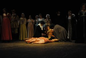 Henry VIII on his deathbed - Henry VIII The Musical