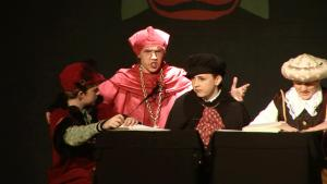 Thomas Wolsey and the Privy Councillors from Henry VIII The Musical