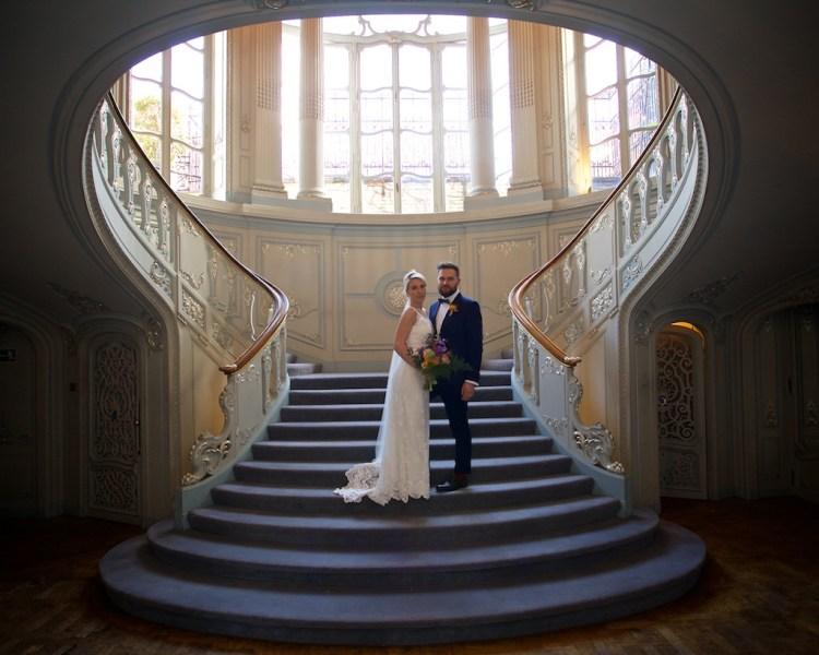 Savile Club Wedding Photography - Emma & Jack 1