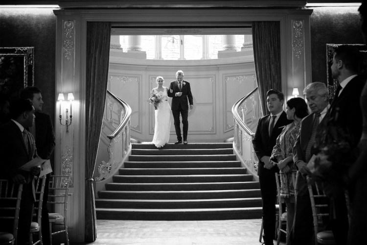 Savile Club Wedding Photography - Emma & Jack 9