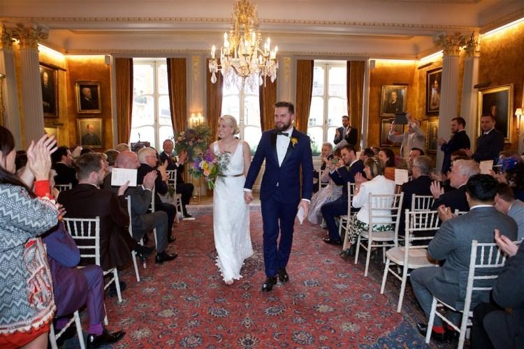 Savile Club Wedding Photography - Emma & Jack 20