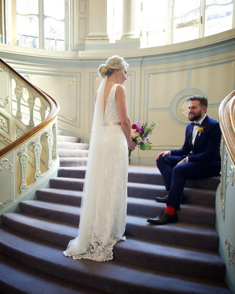 Savile Club Wedding Photography - Emma & Jack 30