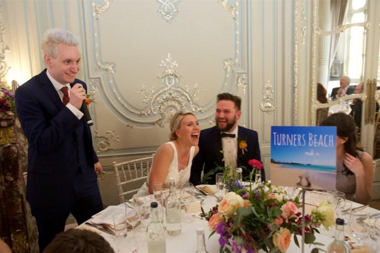 Savile Club Wedding Photography - Emma & Jack 45