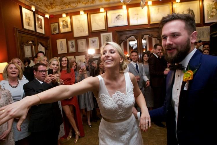 Savile Club Wedding Photography - Emma & Jack 47