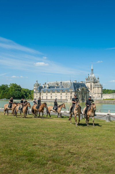 Ride with the Henson horses at the Castle of Chantilly