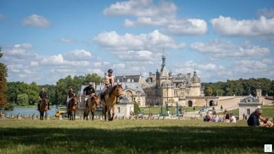 Balade avec les chevaux Henson à Chantilly