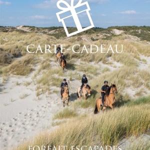 Carte-Cadeau | Forfait Escapades à cheval