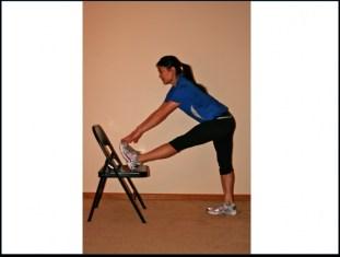 hamstring stretch standing