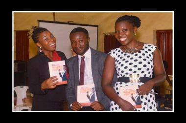 Smiles! Smiles! Smiles during my book launch!