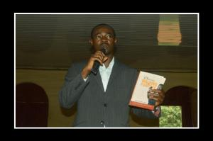 My chief launcher Pastor Jegede..awesome helper!