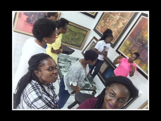 TWTW first meet At Nike Art Gallery Lagos During Ladies hangout November 2015