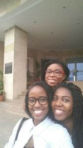 Ruth, Ify and Dee!