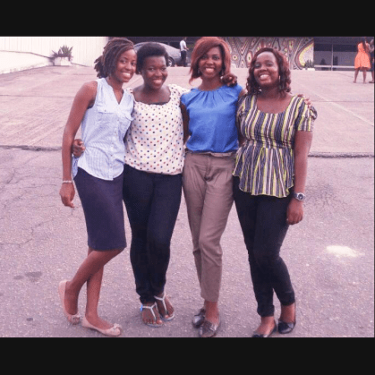 With Ruthie, Bookie and Dee..TWTW