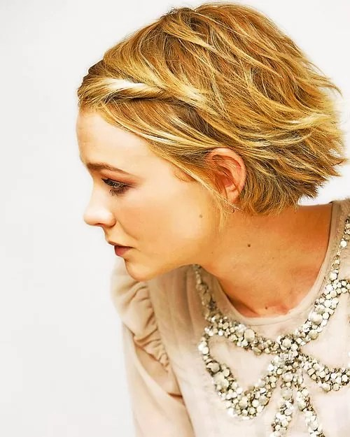 Carey Mulligan Pixie Haircut
