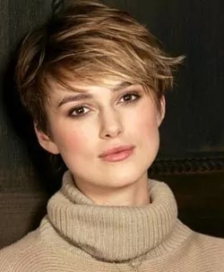 Kiera Knightley Pixie Haircut