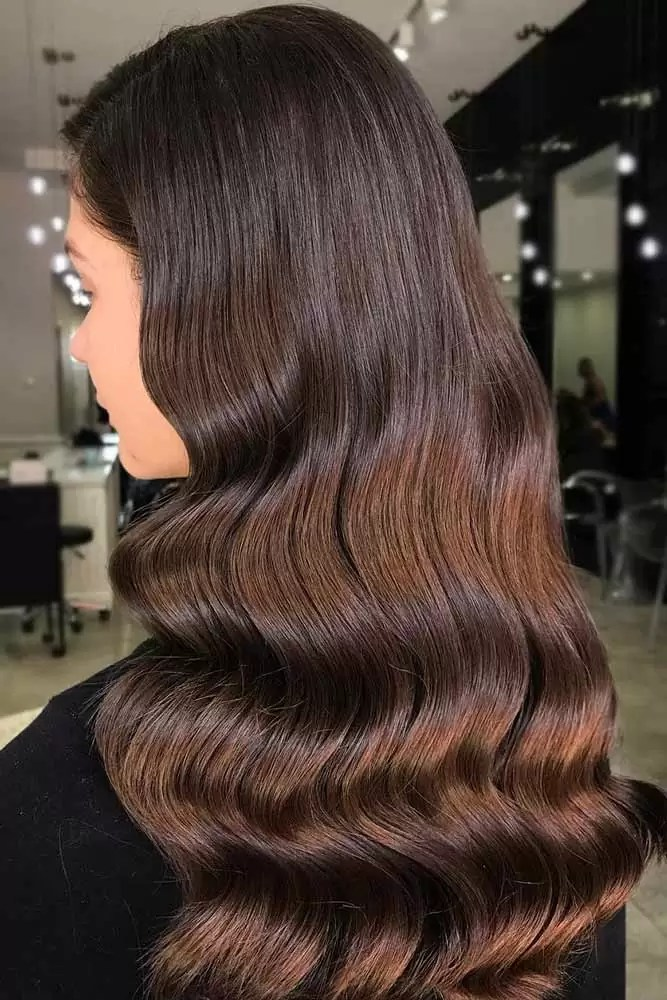brunette-hair-ideas-wavy-chocolate-brown-long-sleek